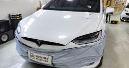 厦门特斯拉ModelX音响改装无损升级德国瑞卡尔三分频乌克兰CTK全车隔音 - 厦门南方公园
