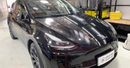 厦门特斯拉modely全车隔音改装 狮龙顶级隔音王+狮龙专用轮毂隔音套件 - 厦门南方公园