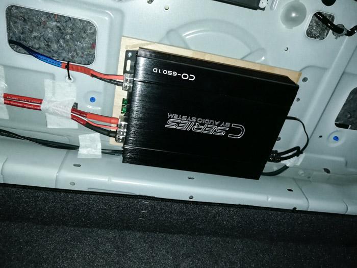 厦门英菲尼迪Q50汽车音响改装美国DD - 厦门南方公园汽车音响改装 隔音改装 第10张