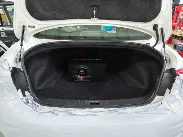 厦门英菲尼迪Q50汽车音响改装美国DD - 厦门南方公园汽车音响改装 隔音改装 第12张