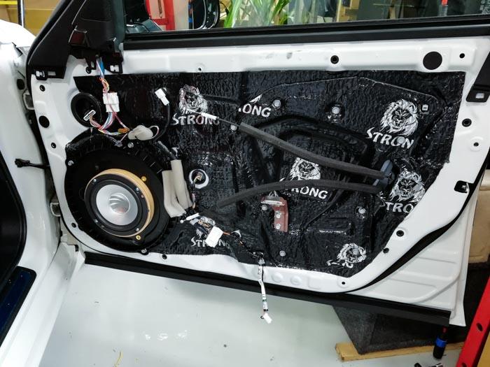 厦门英菲尼迪Q50汽车音响改装美国DD - 厦门南方公园汽车音响改装 隔音改装 第6张
